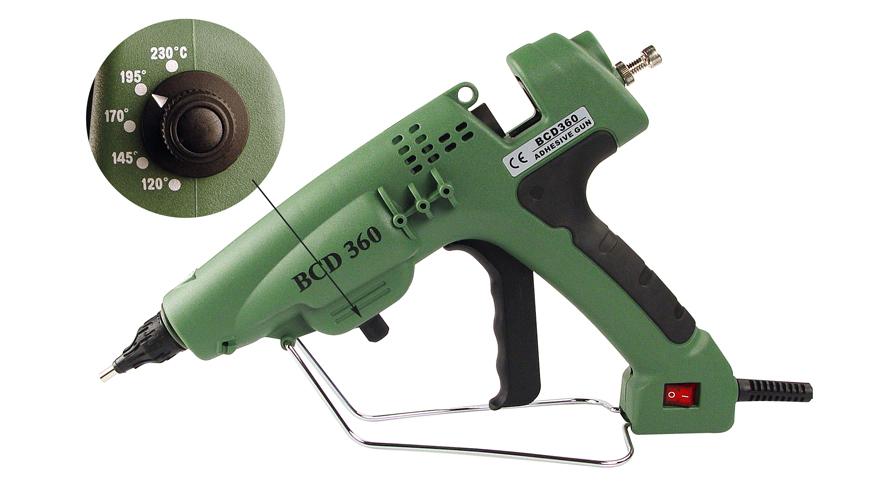 Przemysłowy nowoczesny pistolet oferowany z zestawach do wypełniania ubytków.